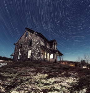 abandoned house whirling stars iStock_000033218692Large